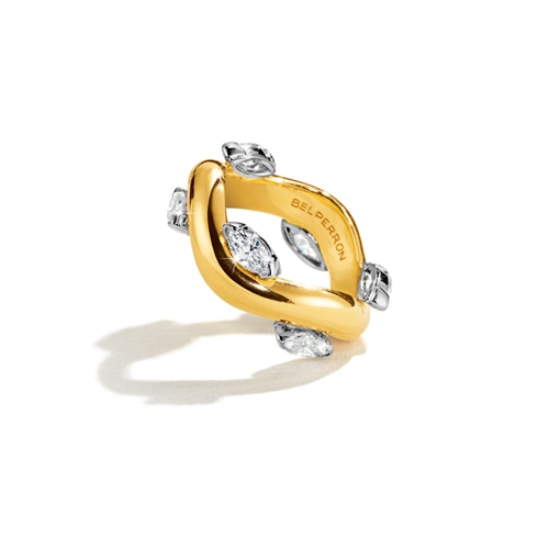 Belperron-Jewelry-Marquise-Wave-Ring-Gold-Diamond
