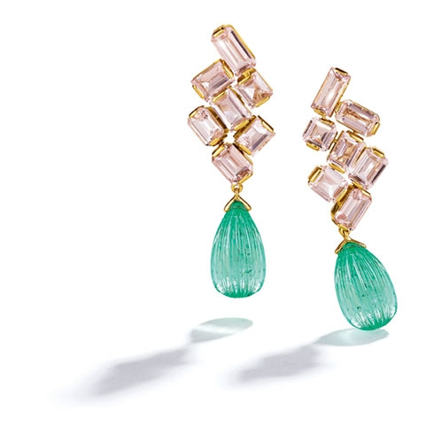 Melange-Pendant-Earclips_Emerald-Morganite_19_RESIZED_498x498_acf_cropped